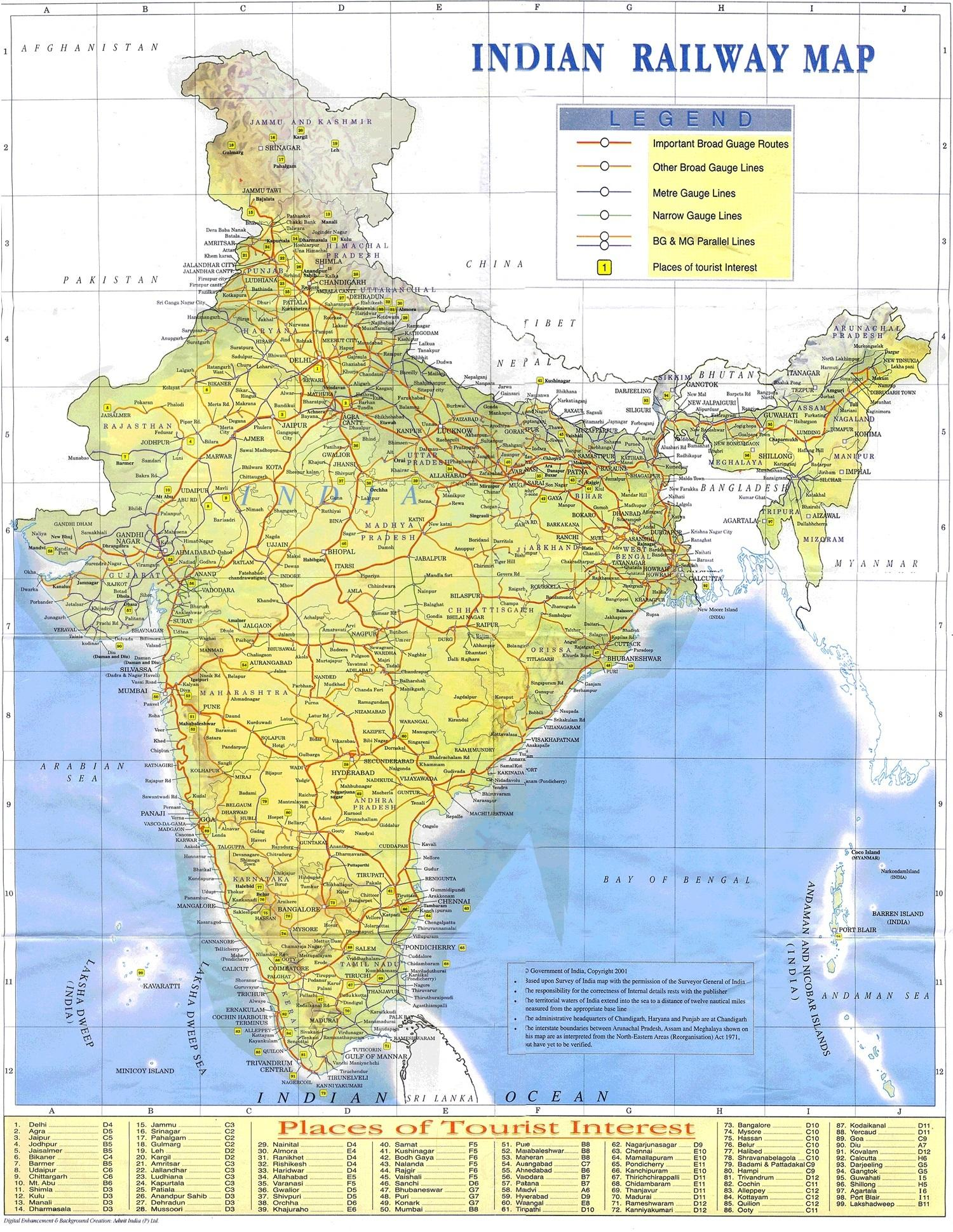 Intian Rautatiet Live Tila Kartalla Intian Railway Live Tila